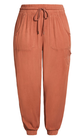 Cosy Pockets Pant - dusty coral