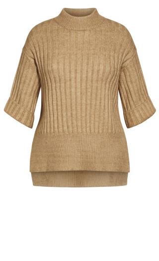 Cosy Knit Jumper - natural
