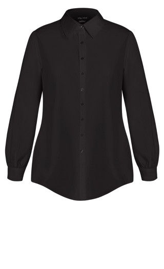 Clean Look Shirt - black