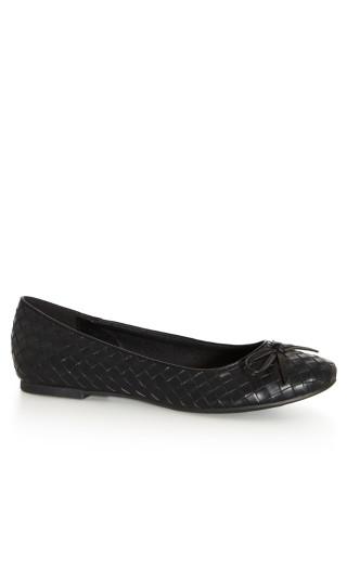 Adara Flat - black