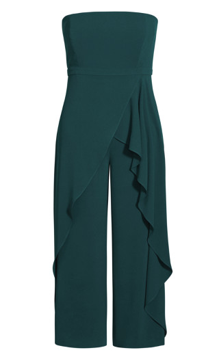 Attract Jumpsuit - emerald