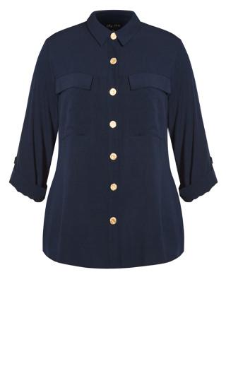 Jet-Set Shirt - navy