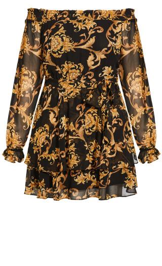Evangeline Dress - black