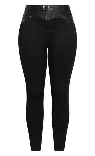 Sleek Evoke Jean - black