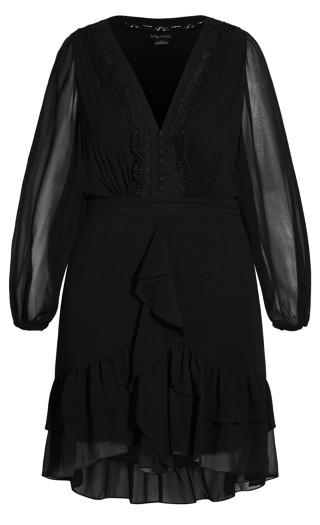 Sweet Sunset Dress - black