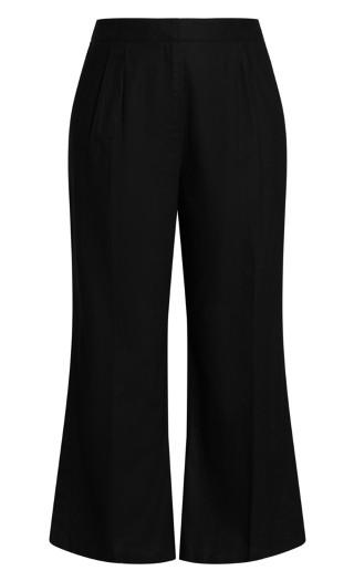 Sicilian Split Pant - black