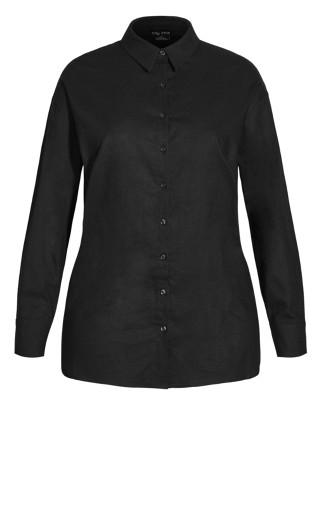 Soft Sunset Shirt - black