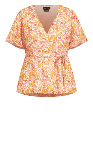 Spring Bunch Top - ivory