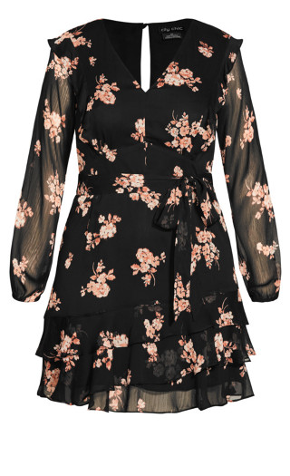 Spice Romance Dress - black