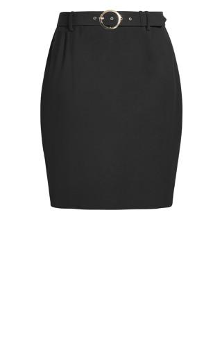 Perfect Suit Skirt - black