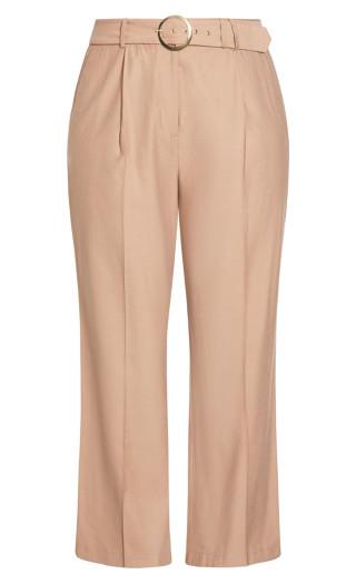 Perfect Suit Pant - caramel