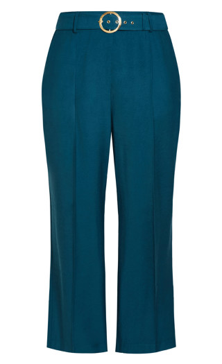 Perfect Suit Pant - deep teal