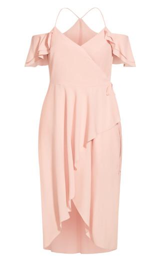 Elegant Maxi Dress - ballet pink
