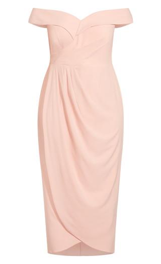 Ripple Love Dress - ballet pink