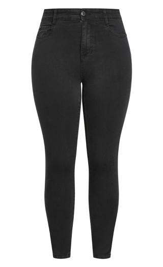 Skinny Denim Jean - black