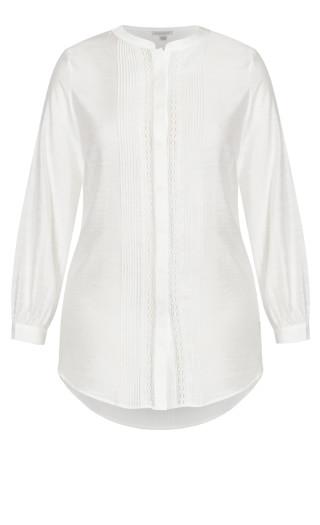 Vogue Shirt - ivory