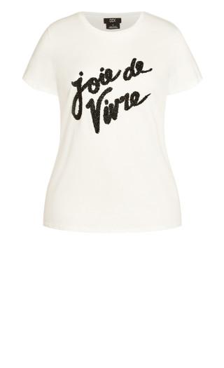 Joie Love Tee - ivory