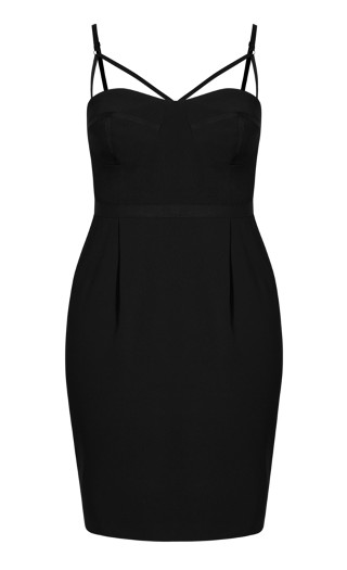Undress Me Dress - black