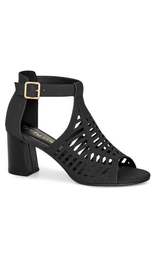 Azra Heel - black