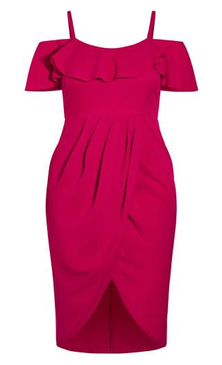 Flirtation Dress - rose bud