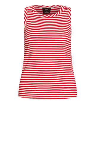 Lounge Lover Tank - red