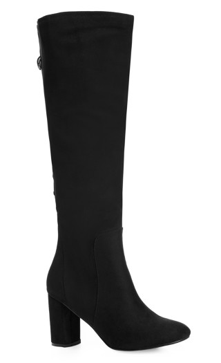Perry Knee High Boot - black