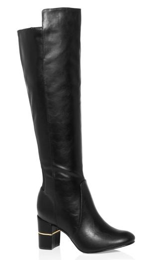 Priscilla Knee High Boot - black