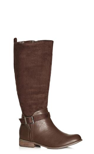 Micah Knee Boot - chocolate
