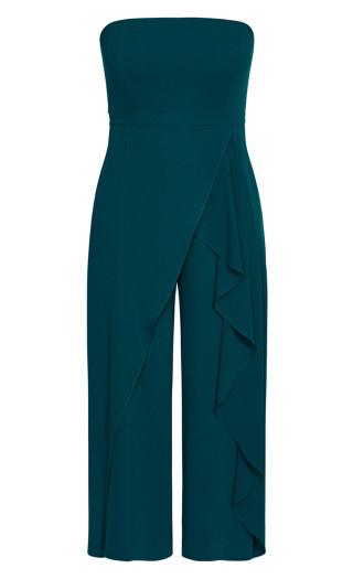 Attraction Jumpsuit - emerald