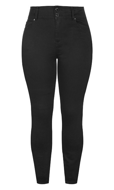 Harley Regular Skinny Jean - black