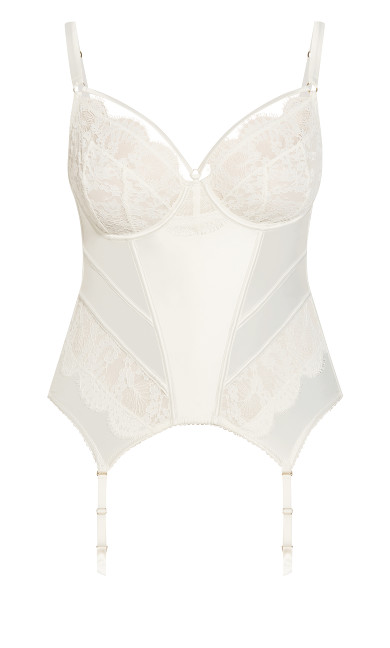 Delores Bustier - ivory