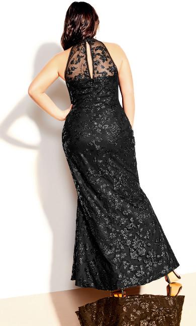 Glimmer Dress - black