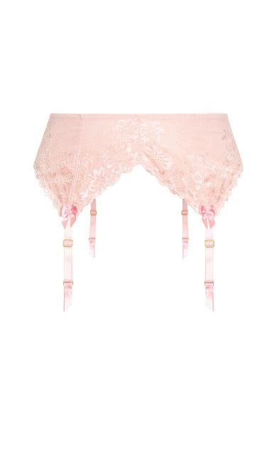 Cosette Garter Belt - blush