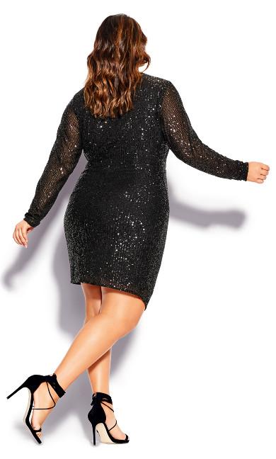 Razzle Dress - black
