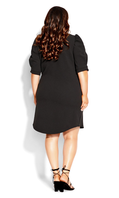 Impulse Vibes Dress - black