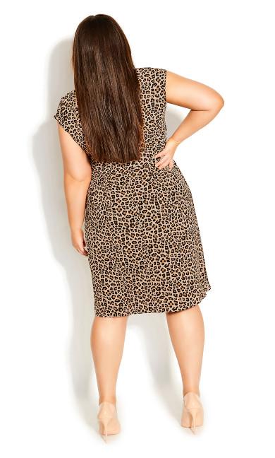 Cheetah Dress - cheetah