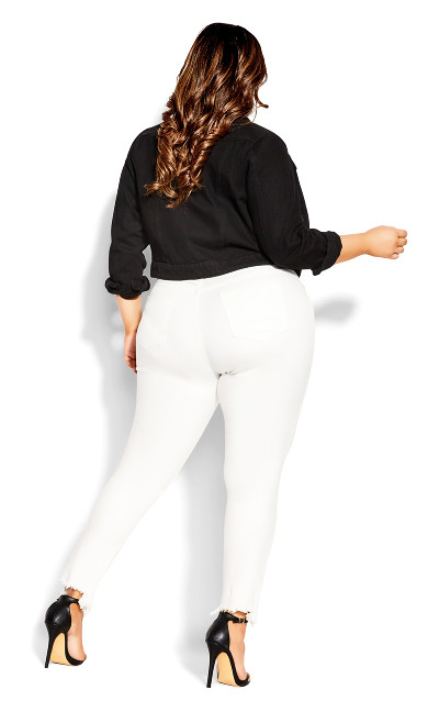 Harley Relaxed Jean - ivory