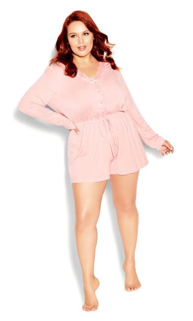 Sadie Playsuit - blush