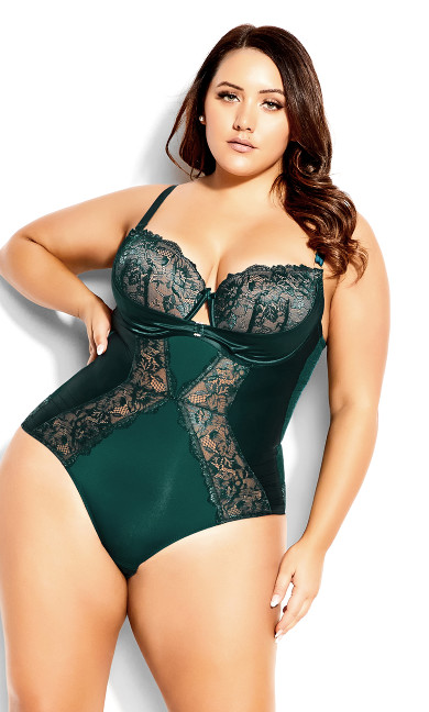 Renay Bodysuit - dark jade