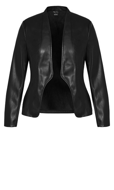 Sleek Royal Jacket - black