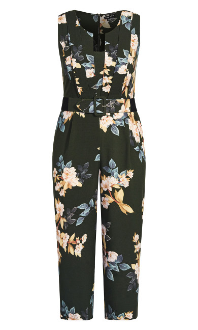 Magnolia Jumpsuit - deep green