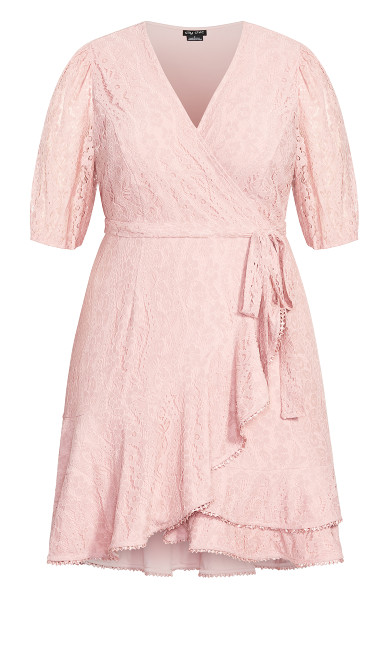 Sweetie Sleeve Dress - rose bud