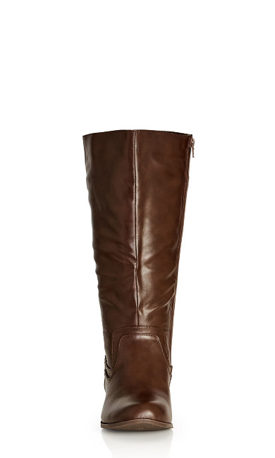 Rialta Knee Boot - chocolate