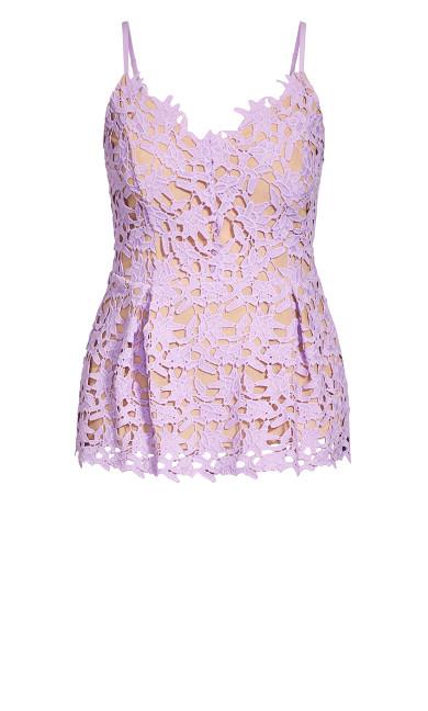 So Fancy Top - lilac