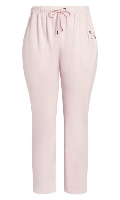 Chillax Pant - iced pink