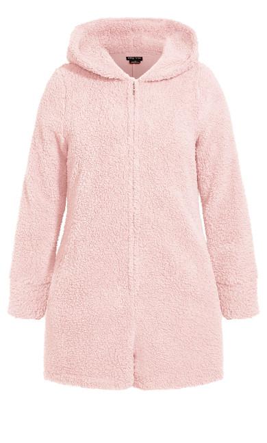 Snuggle Romper - blush