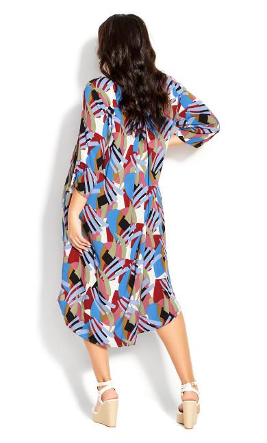 Sloane Ranger Dress - blue multi