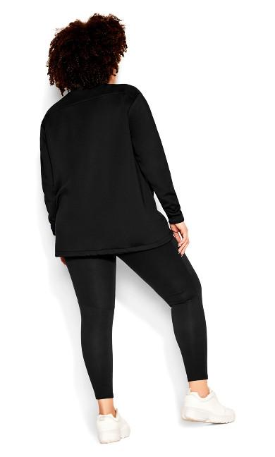 Back It Up Jacket - black