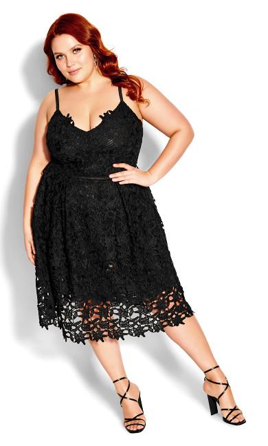 Dress So Fancy - black
