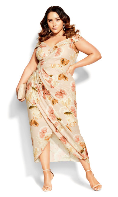 Rose Petal Dress - rose petal